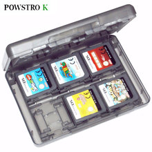 28 in 1 Game Protective Card Case Holder Cartridge Box Anti-dust Waterproof Box for Nintendo DS Lite 3DS Video Game Cards