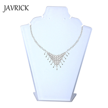 JAVRICK 190 x 145 mm Mannequin Necklace Jewelry Pendant Exhibitor unique design Acrylic Display Stand Holder Show Decorate