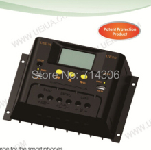 12V 24V 50A UE50 series LCD display solar charge controller(China)