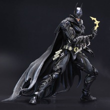 27cm Batman Blue Black Limited Edition Play Arts Kai PVC Action Figure Toys Collectors Model With Box
