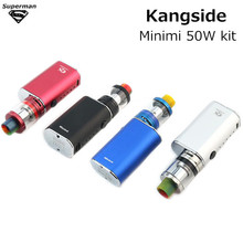 Buy Kangside minimi 50w kit Box Mod E Cigarettes Kits electronic cigarette Vaporizer vape pen wape vapor tanks liquid atomizer for $20.00 in AliExpress store
