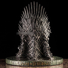 GAME OF THRONES Iron Throne 7-Inch MINIATURE RESIN REPLICA STATUE NEW