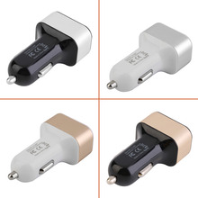 Universal Car-Styling Triple USB Universal Car Charger Adapter 3 Port 2.0A 2.1A 1.0A For Cell Phone Car-charger Adapter Socket