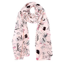 New 2016 Fashion Soft Thin Chiffon Silk Scarf Women Animal Bird Printed Scarves Cachecol Feminino Women Wrap Lady Shawl