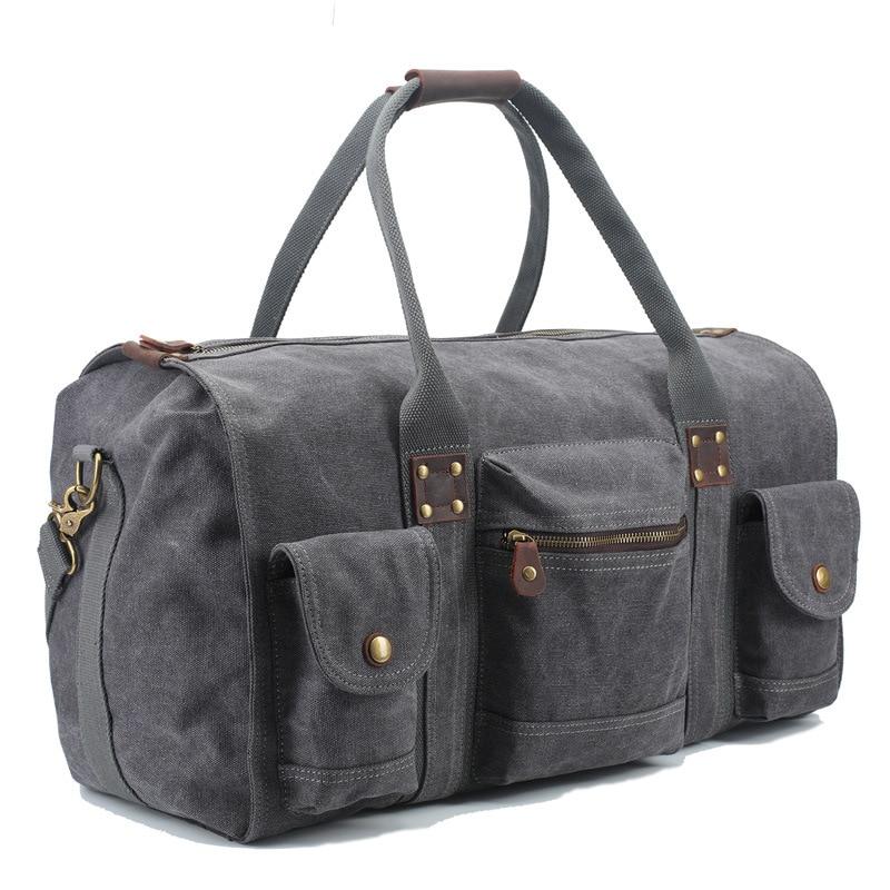 2016 hot Arrival fashion new retro high - capacity travel bag canvas mobile men s bag<br><br>Aliexpress