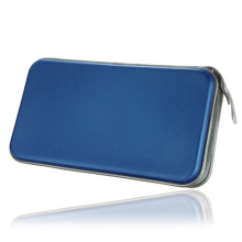 Hot Selling New 80 Disc CD DVD Carry Case Wallet Storage Holder Bag Hard Box - Blue