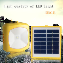 without radio function supr bright tent hanging led solar flashlighting  outdoor fishing led solar light free shipping