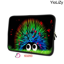 Hedgehog print Neoprene Ultrabook cover 7.9 notebook sleeve tablet case 7 laptop protective skin for ipad mini 3 case TB-63293(China)