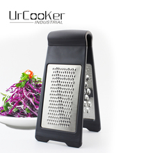Double side grater Multifunctional grater Stainless steel plane Shredded device Creative Potato carrot cucumbe Vegetables Zeste(China)