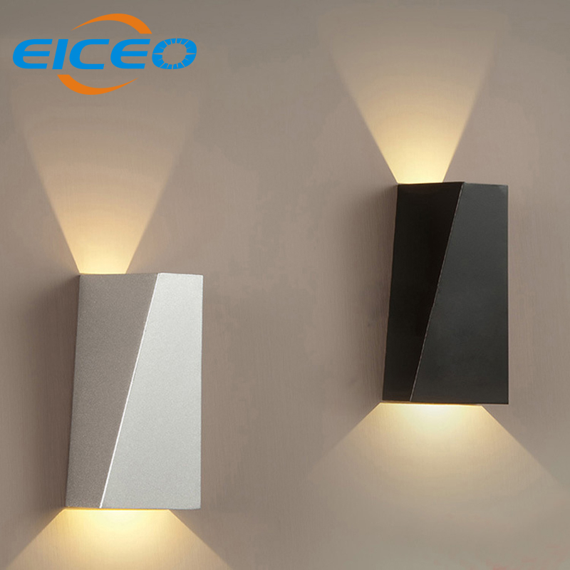 (EICEO) New Arrival LED Wall Lamp Porch Lights Modern Minimalist Living Room Bedroom Bedside LED Wall Light Iron Sconce AC220V<br><br>Aliexpress