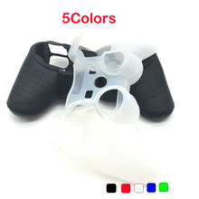 Multicolor Silicone Rubber Skin Cover Protective Case for Playstation 3 PS3 Controller