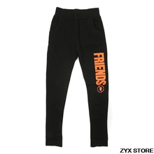 2017 Best Quality 1:1 Vlone Friends Print Women Men Pants Hiphop Street Brand Skateboard Jogger Pants Trousers Sweatpants(China)