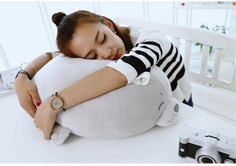 1pcs Cute Soft Animal Sea Lion Doll Baby Sleeping Pillow Marine Animals Seal Plush Toy Kids Stuffed Toys Gift (4)