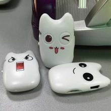 Wholesale Quality Smiling Cat Mini MP3 Music Player with TF Card Slot for leisure(China)