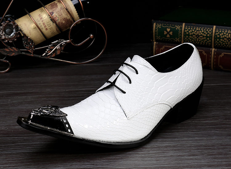 2017 Fashion Style Soft Shoe Men Shoes height increasing High Quality Brand Genuine Leather Shoes Mens white leather shoes<br><br>Aliexpress