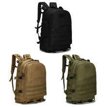 40L 3D Backpack Outdoor Trekking Sport Travel Camping Hiking Camouflage Bag B01