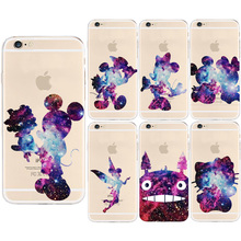 Fashon star mickey Case For coque iPhone 5S 5 SE 5C 6 6S 7 Plus new arrive Soft TPU cover for fundas iPhone 6S case Capa