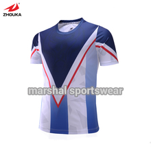 OEM Soccer t-shirt,sublimated jerseys customize your own football gear football shirt with name and number(China)