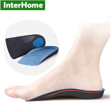 OX leg flat foot sports memory corrective arch pad insole,Posture Corrector improve bone plantar Force,Deodorant relieve fatigue(China)