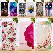 Soft TPU & Hard Plastic Phone Covers For Nokia Lumia 630 DS Dual SIM RM-978 N630 3G RM-976 RM-977 RM-974s DIY Luxury Silicon