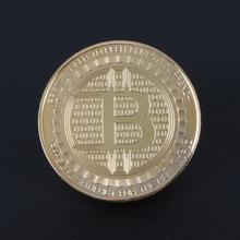 Buy 2017 Bitcoin Commemorative Coin Collectible BTC Coins Gold Plate Art Collection Gift Physical Metal Antique Imitation Home Decor for $1.25 in AliExpress store