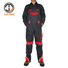 Mens Canvas Coverall Cargo Long Pants(China)