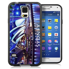 Gorgeous Sydney Australia Custom Soft TPU Phone Case For Samsung S3 S4 S5 S6 S7 edge plus Note 2 Note 3 Note 4 Note 5 Back Cover