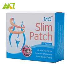 MQ 30pcs Slim Patch Magnetic Navel Stick Quickly Weight Loss Burning Fat Patch 100% Natural Slimming Beauty Products(China)