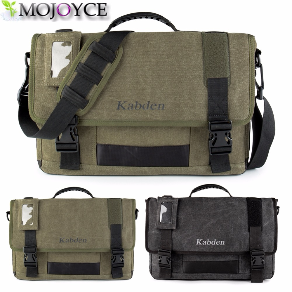 MOJOYCE Brand Thick canvas bag high quality men messenger bags fashion shoulder bags brand men bag 11.11 Big Sale<br><br>Aliexpress