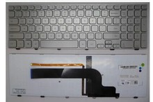 original Keyboard (US) for dell Inspiron I5 7000 Series 7537 7737 Laptop keyboard silver color free shipping D0001-us