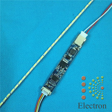 14 inch wide 290x2.0mm LCD Laptop Dimable LED Backlight Lamps Adjustable Update Kit Strip+Board 9-25V Input 2sets