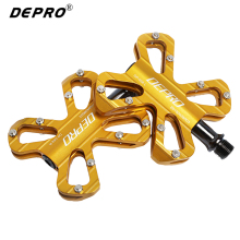 DEPOR Aluminum Alloy Pedals Bike Accessories Sealed Bearing Road MTB Pedal Professional Racing Cycling Bicycle Pedals