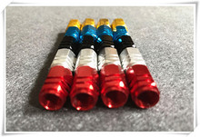 New Red Blue Car-Styling Valve Stem Sticker For Infiniti EX25 EX35 EX37 FX FX35 FX37s FX50s G25 G35 G37 G37s  Car Accessories
