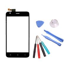 Exyuan Free Toolkit + Replacement Cell Phone Digitizer Sensor For Ark Benefit S502 Plus 5 Inch Touch Screen Glass Panel