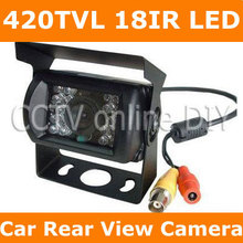 Car Vehicle Color Rear View Back up Camera 420TVL Sharp CCD 18IR LED Night Vision