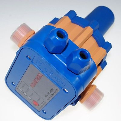 220-240V ABS Water Pump Automatic Pressure Control Electronic Switch x 1<br>