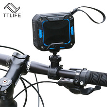 TTLIFE M2 Bicycle Speaker Bluetooth 4.1 Mini Portable Super Stereo Bass Speaker Waterproof IP65 for Rider Car 2000mAh 5W 75dB