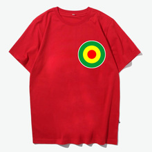 reggae red yellow green peace logo patch men women size vintage quality cotton t shirt