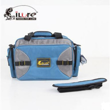 iLure 34.5*15*25cm Multi-Purpose Fishing Lure Bag Shoulder Bag Outdoor Waterproof Fishing Bags With Glasses Box Bolsa De Pesca