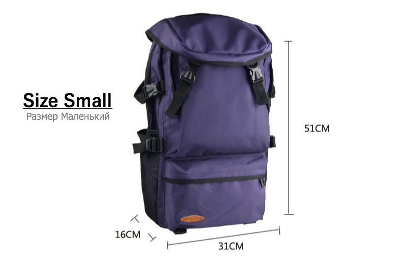 d072c05d1cf3 Big Large Capacity Nylon Backpacks Travel Backpack For Men Women ...