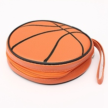 Hot Sale CD DVD Soft Bag Carry Case Holder Box Basketball Wallet Storage Sheet Case CD Game DVD Bag Organizer(China)