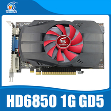 Original graphics cards veineda HD6850 1GB GDDR5 graphic card HDMI DP DVI port for Radeon Stronger than R7 350, HD6750, GT740