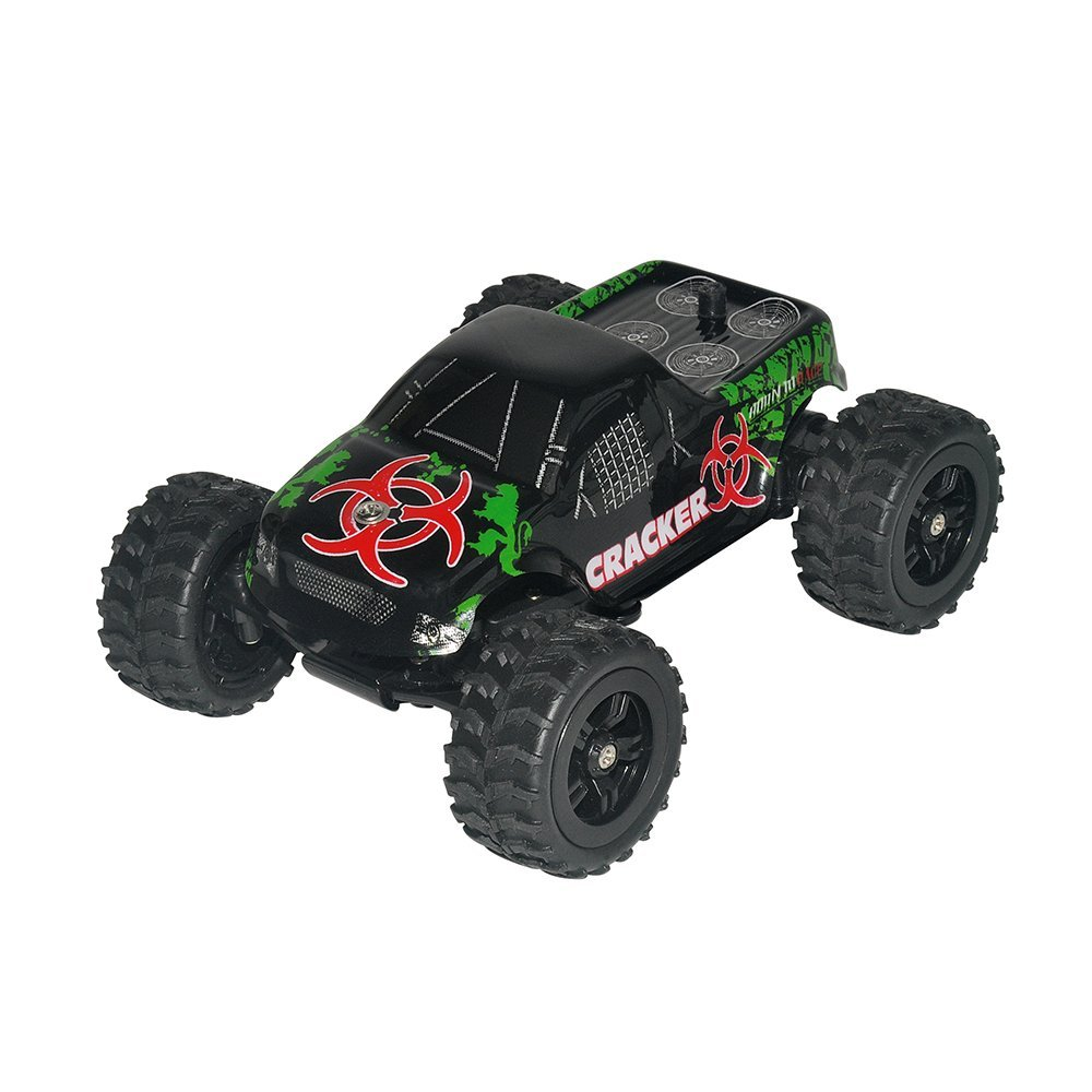 RC Car Virhuck 1:32 Scale Remote Control off-road RC Drift Car Truck 2wd Electric High Speed Racing Ca with Rechargeable Battery(China)