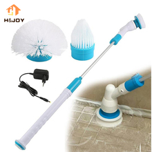 Spin Scrubber Turbo scrub Cleaning Brush Electric Long Handle Floor Toilet Brush Window Cleaner Multi-function Charging Brush