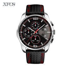 XFCS 2017 waterproof watch for man quartz wristwatch mens top famous brand watches topmerk original shock clock saat cheap