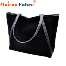 NEW Fabulous Simple Winter Larger Capacity Leather Suede Women Bag Messenger Wholesale O13