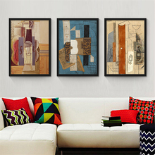 Picasso Abstract Painting Nordic Wall Paper Woman Figure Art Poster Creative Canvas Mural Drawing for Office Study Bedroom Decor