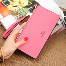 Women Wallet Female 2018 Coin Purses Holders Brand Cell phone Bag Card Holder handbag Ladies Clutch Wallest Money Capacity Purse(China)