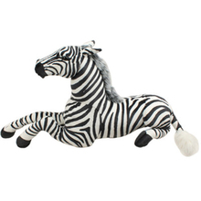 Stuffed Simulation Animal Doll Large Soft Toys Zebra Giant Cushions Peluches Toys For Children Cavalo De Brinquedo Gift 70G0308
