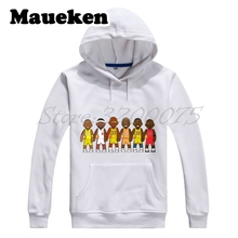 Men Hoodies Legends Michael Jordan Lebron James Kobe Bryant Magic Johnson o' Neal Jabbar Sweatshirts Thick W17101910(China)